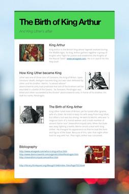 The Birth of King Arthur