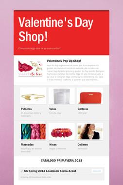 Valentine's Day Shop!