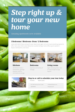 Step right up & tour your new home