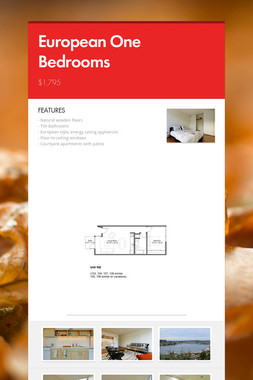 European One Bedrooms
