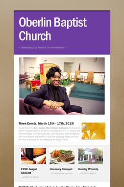 Oberlin Baptist Church