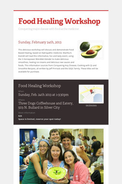 Food Healing Workshop