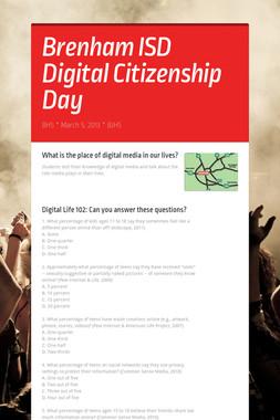 Brenham ISD Digital Citizenship Day