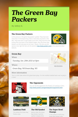 The Green Bay Packers