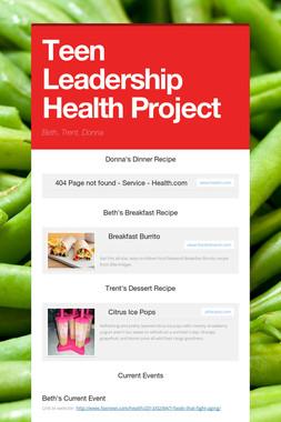 Teen Leadership Health Project