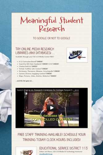 Meaningful Student Research