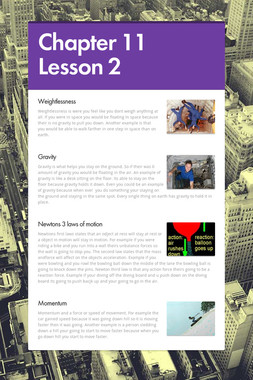 Chapter 11 Lesson 2