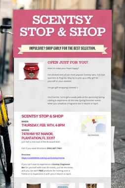 Scentsy Stop & Shop
