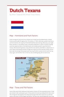 Dutch Texans
