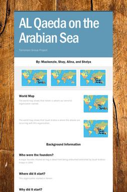 AL Qaeda on the Arabian Sea