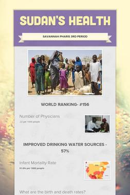 Sudan's Health