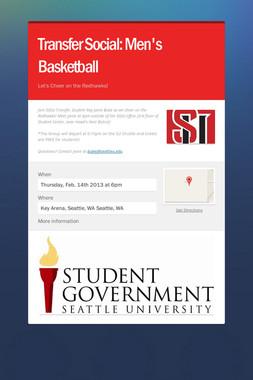 Transfer Social: Men's Basketball