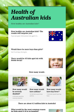 Health of Australian kids