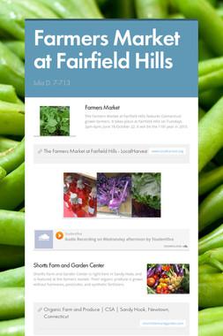Farmers Market at Fairfield Hills