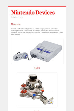 Nintendo Devices