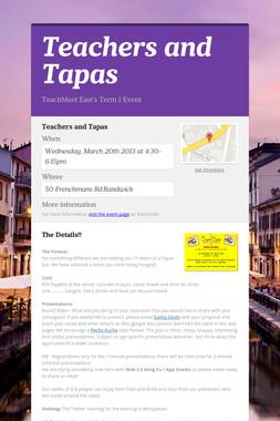Teachers and Tapas