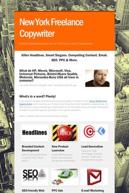 New York Freelance Copywriter