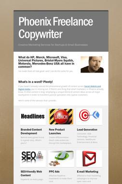 Phoenix Freelance Copywriter