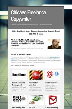 Chicago Freelance Copywriter