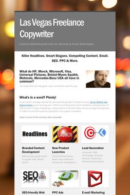 Las Vegas Freelance Copywriter