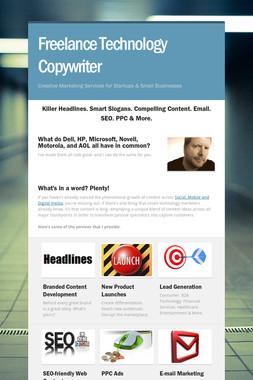 Freelance Technology Copywriter