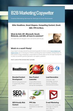 B2B Marketing Copywriter