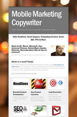 Mobile Marketing Copywriter