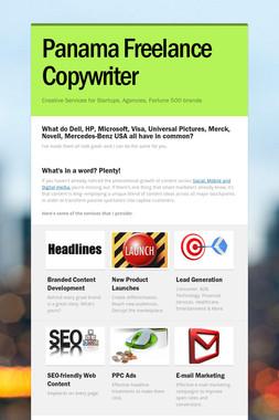 Panama Freelance Copywriter