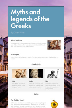 Myths and legends of the Greeks