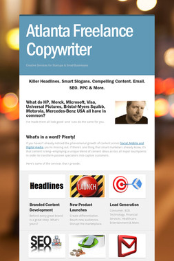 Atlanta Freelance Copywriter