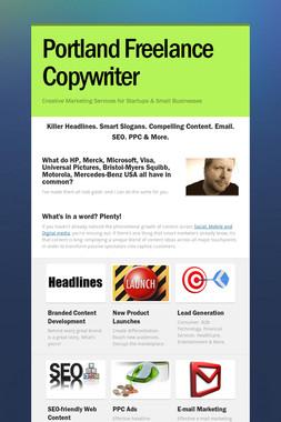 Portland Freelance Copywriter