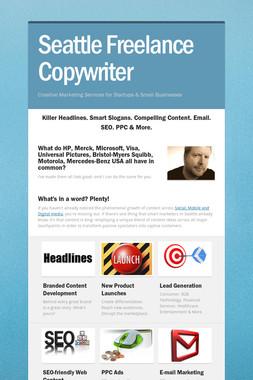 Seattle Freelance Copywriter
