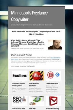 Minneapolis Freelance Copywriter