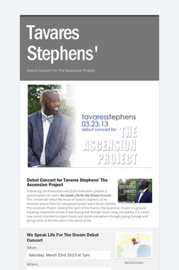 Tavares Stephens'