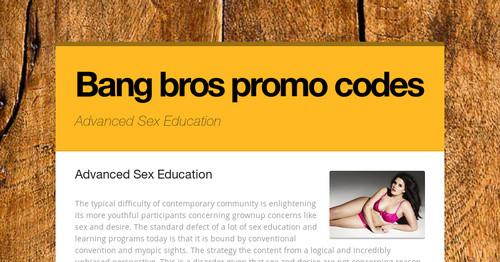bang bros promo codes