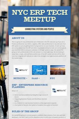 NYC ERP Tech Meetup