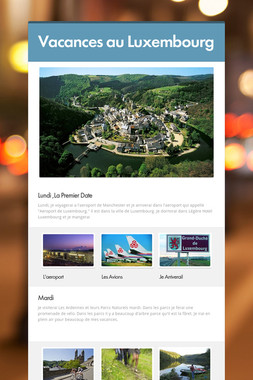 Vacances au Luxembourg