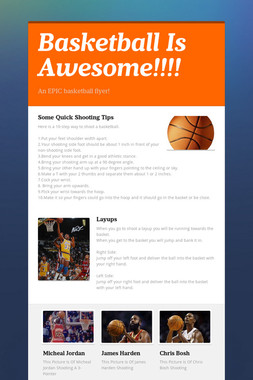 Basketball Is Awesome!!!!