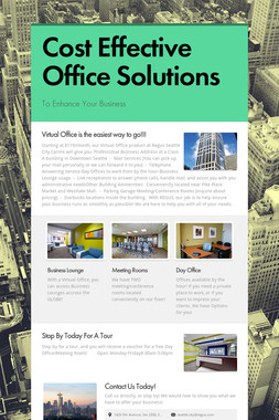 Cost Effective Office Solutions