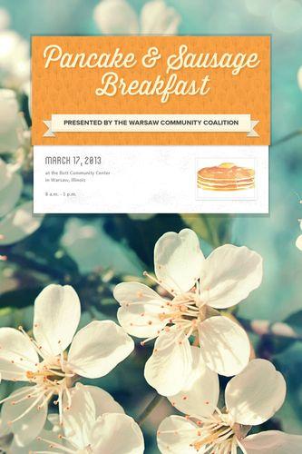 Pancake & Sausage Breakfast