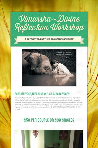 Vimarsha~Divine Reflection Workshop