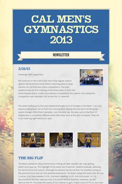 Cal Men's Gymnastics 2013