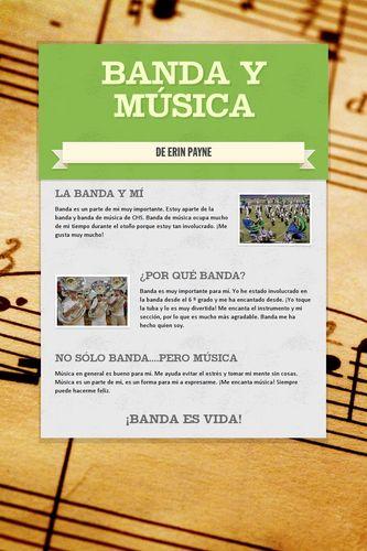 Banda y Música