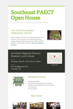 Southeast PAECT Open House