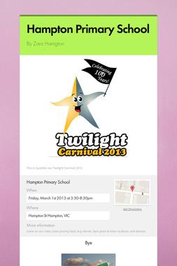 Hampton Primary School
