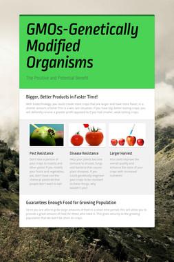 GMOs-Genetically Modified Organisms