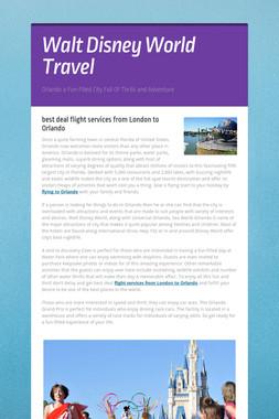 Walt Disney World Travel