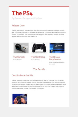 The PS4