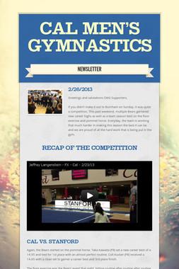 Cal Men's Gymnastics