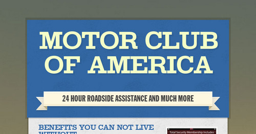 Motor club of america smore for National motor club roadside assistance